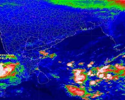 Deep depression from Cyclone 'Gaja' to intensify ...