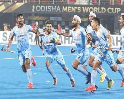 India barge into Hockey World Cup quarter-finals