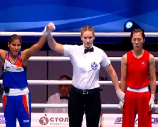 World Boxing C'ship: Manju Rani in final; Jamuna ...