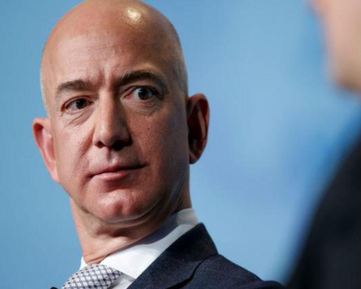 Amazon's Jeff Bezos faces protest in India over ...