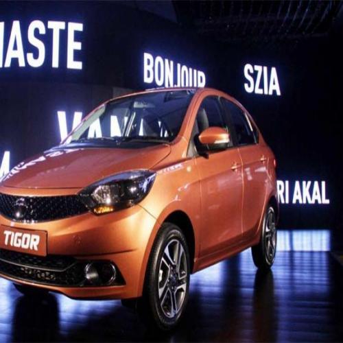 Tata Launches compact Sedan Tigor