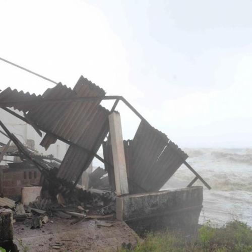 Havoc created by Cyclone 'Touktae' on the west coast