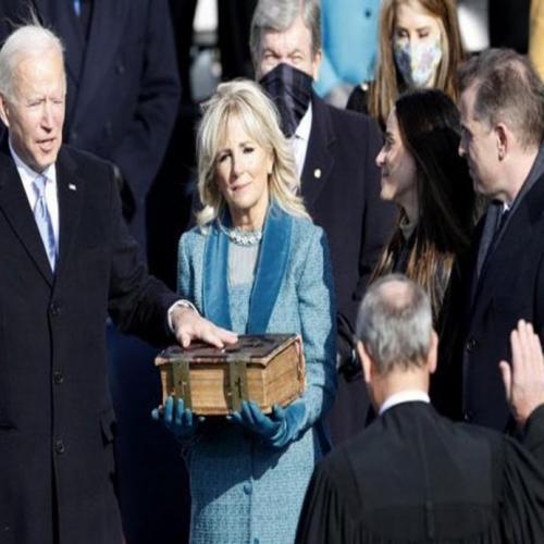 Joe Biden sworn-in as 46th US President
