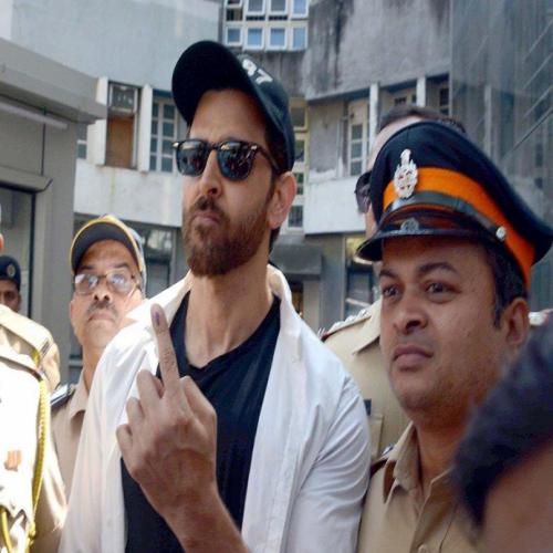 B-town at the polling booth