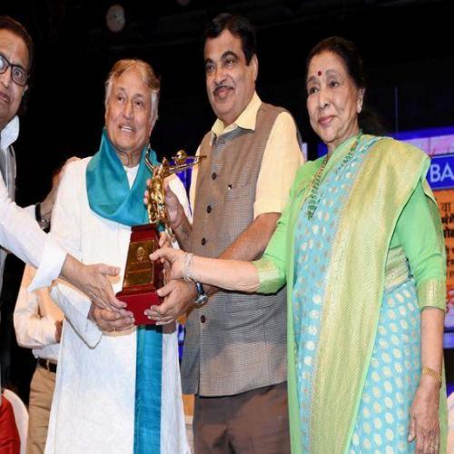 Master Deenanath Mangeshkar Awards 2018
