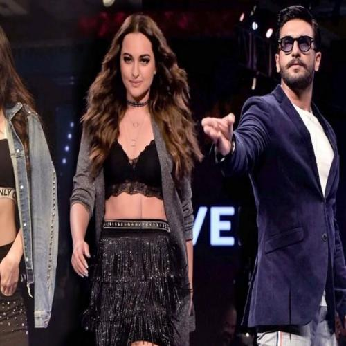 Ranveer-Sonakshi and Kiara walked the ramp