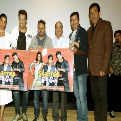Trailer and poster launch of film Sharmaji Ki Lag Gai