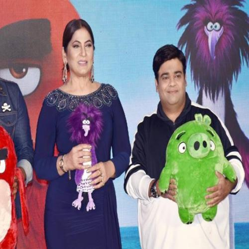 """Trailer launch of Hollywood film """"The Angry Birds 2"""""""
