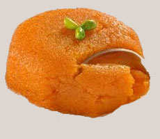 raw mango halwa