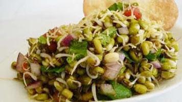 sprouts bhel