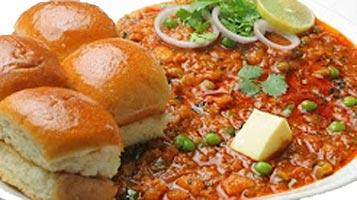 corn pan paav bhaji