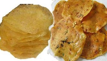 potato papad