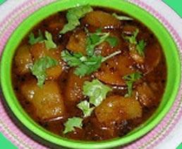 Raw Mango Sabji