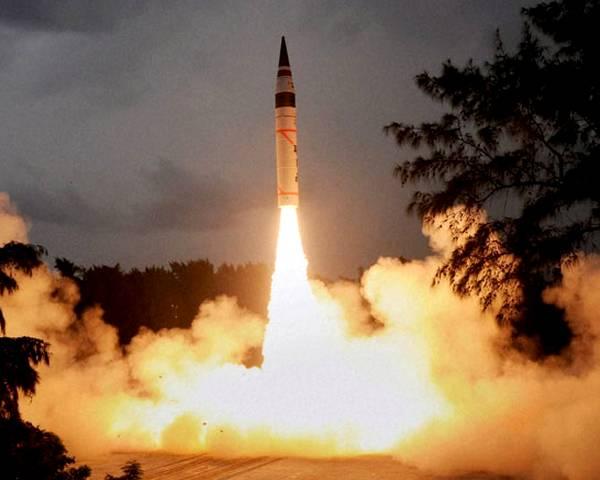 Agni-v Missile