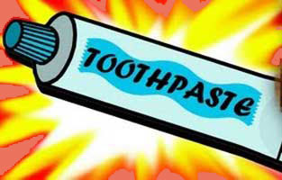tooth paste