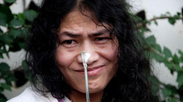 इरोम शर्मिला  ने  16 साल बाद  खत्म किया अनशन