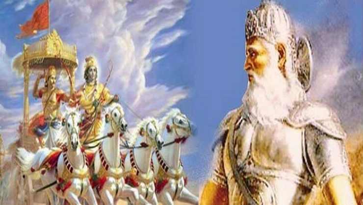 श र क ष ण और भ ष म म य थ सम नत रहस य ज नकर च क ज ए ग Sri Krishna And Bhishma