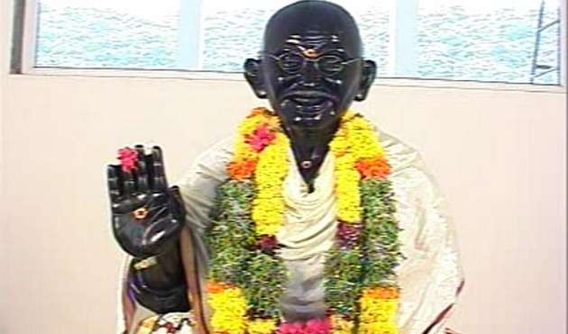 यहां रोजाना होती है महात्मा गांधी की पूजा-अर्चना