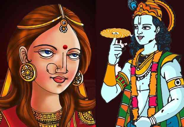Krishna wife Kalindi