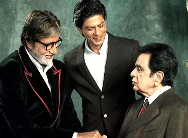 Amitabh, Shahrukh, Dilip Kumar