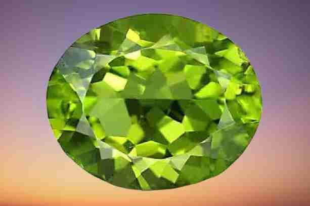 Peridot stone