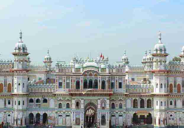 janaki temple nepal mandir