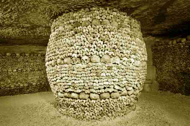 french catacombs