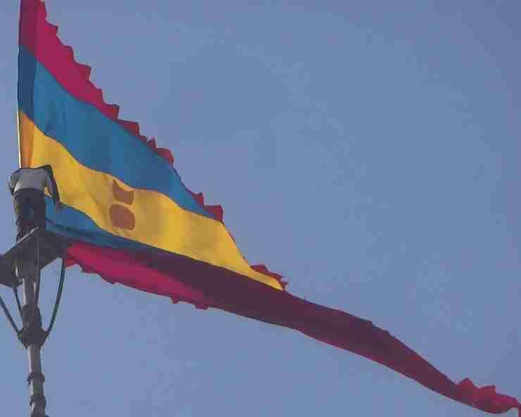 Secret of the Flag of Dwarka Temple