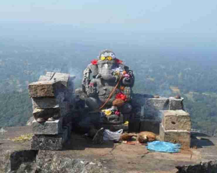 Dholkal Ganesh Temple Midkulnar