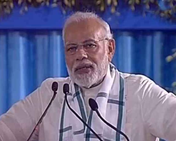 20 साल का काम 4 साल में करके दिखाया है : प्रधानमंत्री नरेन्द्र मोदी