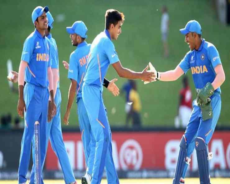 Under 19 World Cup : ऑस्ट्रेलिया को 74 रन से रौंदकर भारत सेमीफाइनल में