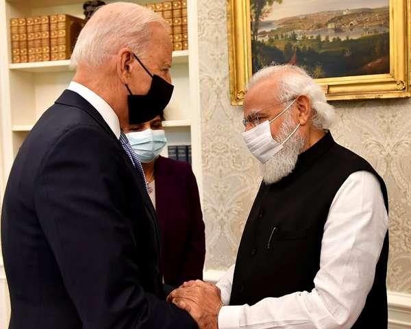 बातचीत के दौरान पीएम नरेन्द्र मोदी और राष्ट्रपति जो बाइडेन ने क्या कहा....