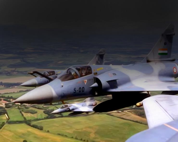 मध्यप्रदेश के भिंड में वायुसेना का विमान दुर्घटनाग्रस्त, पायलट घायल
