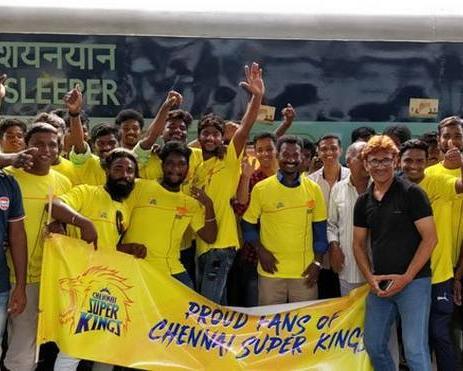 चेन्नई सुपरकिंग्स का प्रशंसकों को बड़ा तोहफा, ट्रेन के साथ टिकट और खाना भी फ्री