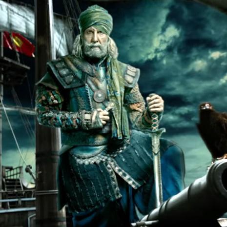 ठग्स ऑफ हिन्दोस्तान में अमिताभ बच्चन का लुक देख रह जाएंगे दंग, कमांडर ऑफ ठग्स