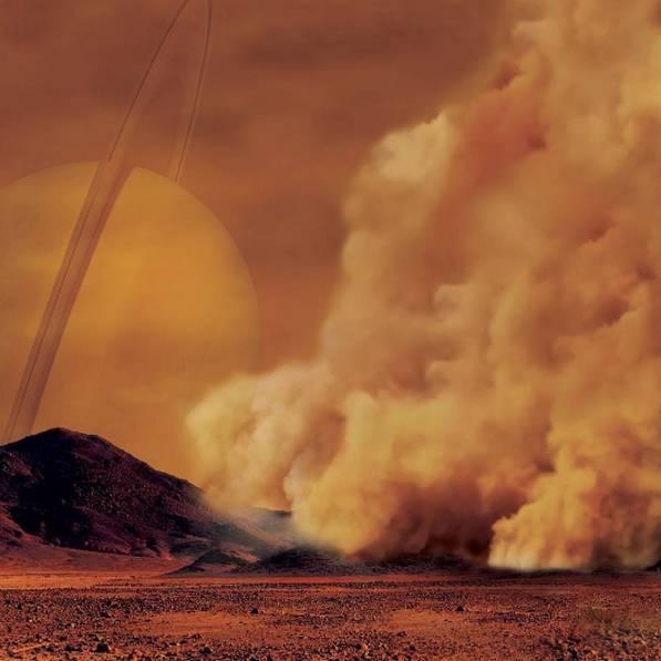 नासा को बड़ी सफलता, शनि के चंद्रमा पर धूल भरी आंधी का पता चला