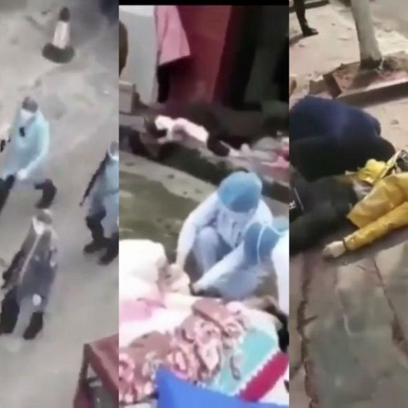 क्या कोरोनावायरस के मरीजों को गोली मार रही चीनी पुलिस...जानिए वायरल वीडियो का पूरा सच...