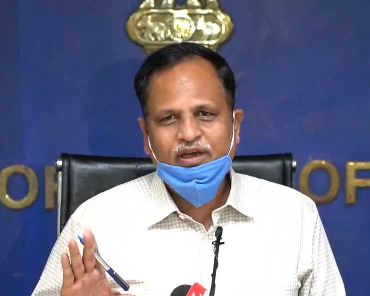 पूरी दिल्ली को Corona Vaccine लगाने के लिए हमारे पास पर्याप्त साधन मौजूद : सत्येंद्र जैन