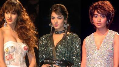 लक्मे फैशन वीक में सोनल और दिशा पाटनी का जलवा
