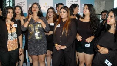 लक्मे फैशन वीक के लिए प्लस साइज मॉडल्स के ऑडिशन