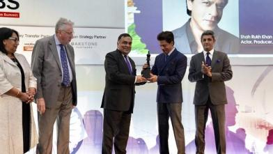 शाहरुख खान ने भारत-ब्रिटेन व्यापार समिति में लगाए चार चांद