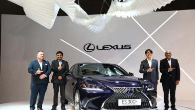 लेक्सस ने लांच किया हाइब्रिड इलेक्ट्रिक कार ईएस 300एच का नया वेरिएंट
