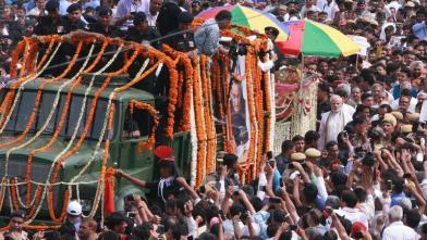 नम आंखों से युगपुरुष अटल बिहारी वाजपेयी को अंतिम विदाई