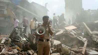 मुंबई के भिंडी बाजार में ढही इमारत