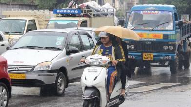 हैदराबाद में भारी बारिश