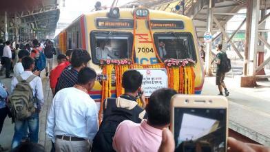 मुंबई को मिली वातानुकूलित लोकल ट्रेन की सौगात