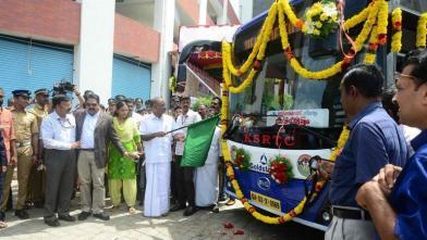 KSRTC की इलेक्ट्रिक बस का ट्रायल रन शुरू