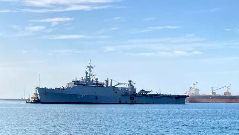 ऑपरेशन समुद्र सेतु: INS जलाश्व से स्वदेश लौटे ईरान में फंसे भारतीय