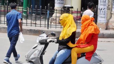 गर्मी से लोगों का हाल हुआ बेहाल, देखें तस्वीरें...