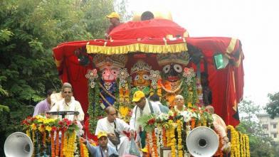 मुंबई में भगवान जगन्नाथ की रथयात्रा